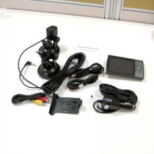Quality 3.5 inch 1.3mp coms sensor hdmi video / photo dual cameracar blackbox dvr with for sale