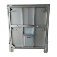 China Metal Chemical Storage Tote 1000L Capacity Cold Galvanised Mild Steel Construction Finish on sale