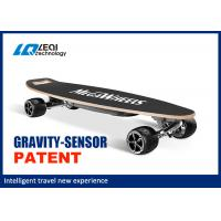 Wholesale 36V Smart Self Balancing Electric Skateboard Four Wheel 1000W Instantaneous Power from china suppliers
