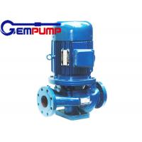 Wholesale IHG vertical pipe Inline Water Booster Pump , stainless steel centrifugal water pump from china suppliers