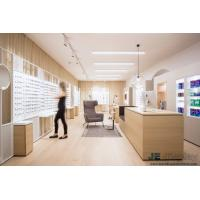 Wholesale Raw wood wind of Interior Design for Eye Glasses shop by Natural oak wood Display Counters and White Storage Cabinets from china suppliers