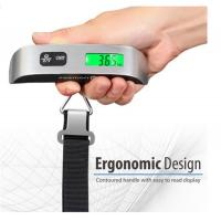 Buy cheap 110 Pounds Digital Hanging Luggage Scale with Rubber Paint Temperature Sensor from wholesalers