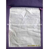 Wholesale Double Shoulders Plastic Drawstring Backpack Grey Apple Store Bags W40 X L50cm from china suppliers