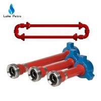 Wholesale High Pressure Integral and Welded Straight Pipe for Hose Loop and Ring Manifold from china suppliers