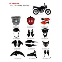 Wholesale CG150 Titan Nueva Motorbike Accessories New Material With ISO900 Certification from china suppliers