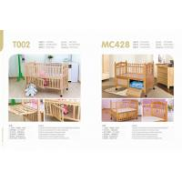 Wholesale High quality solid  wood baby bed,safety testing standards baby bed  for T002、MC428 from china suppliers