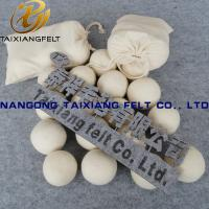 China 6 Pack 9 XL preminum wool dryer balls on sale