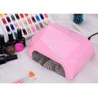 Wholesale LED UV CCFL LED Nail Lamp Dual Hand Red Diamond Shape With Environment Protection from china suppliers