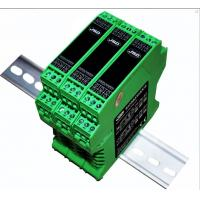 Wholesale frequency pulse signal to 4-20mA/0-10V analog signal isolation transmitter (F/V、F/I converter) from china suppliers