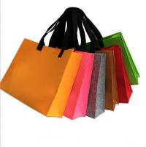 high quality felt bag