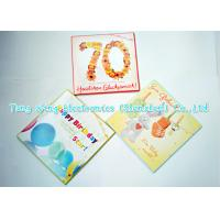 Wholesale Personalized Delicate Festival Custom Sound Greeting Cards with sound chips from china suppliers