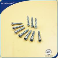 Wholesale M3~ M12 Socket Cap Head Screw / Self Tapping Wood Screws Zinc Plated from china suppliers