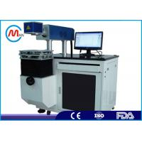 Wholesale Digital CO2 Laser Marking Machine , High Accuracy Button Printing Machine from china suppliers