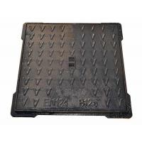 China Light Duty Square Cast Iron Manhole Cover Concrete Lawn Manhole Cover 700 X 700 on sale