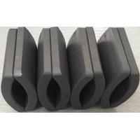 Buy cheap Customized Permanent Big Ferrite Arc Magnet For Air Pump 52.12*50.18*7.27 mm from wholesalers