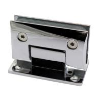 Wholesale chrome plated 90 degree glass hinge wall to glass from china suppliers