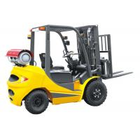 Buy cheap LPG 2.5 Ton Four Wheel Forklift 18km / H Travel Speed CE Certification from wholesalers