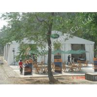 Wholesale 15X20m White Party Tent  with Fabric Sidewalls, 200 Seater Outdoor Party Canopy from china suppliers