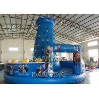 Wholesale Blue Kids Frozen Inflatable Climbing Wall Type PVC Material Inflatable Sports Arena from china suppliers