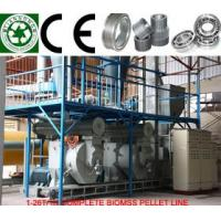 Buy cheap Wood Pellet Manufacturing Line,Complete Biomass Pelleting Plant from wholesalers