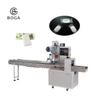 China Horizontal Flow Wrap Packing Machine Hotel Home  Solid Laundry Bar Soap Packing on sale