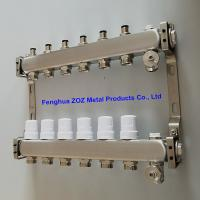 China Stainless steel manifolds set for hydronic radiant and under floor heating system for sale