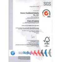 Xiamen Goodwood Industry Co., Ltd Certifications