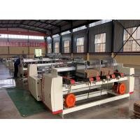 China Double Sheets Folder Gluer Machine For Making Corrugated Carton Box for sale