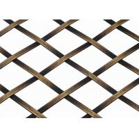 Wholesale Versatility Unique Texture Flat Wire Mesh Oxidize - Resisting For Curtains from china suppliers