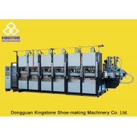 Wholesale EVA Slipper Making Shoe Sole Making Machine With Full Production Line / 6 Stations from china suppliers