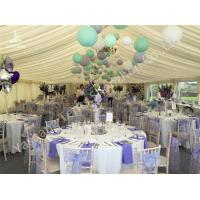 Wholesale Colorful Ball Decoration Luxury Wedding Tents , Huge Canopy Tent Anodized Aluminum Framed from china suppliers