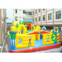 Wholesale Customized Colourful Inflatable Bouncy Castle , Kids Inflatable Playground from china suppliers