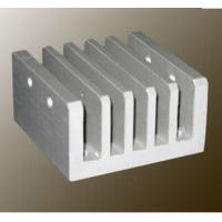 Wholesale Steel Polished / Electrophoretic Aluminum Heatsink Extrusion Profiles With Fabricating from china suppliers
