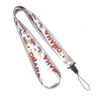 Wholesale Heat Transfer Print Grey Cell Phone Lanyard Neck Strap For Samsung Nokia Gift from china suppliers
