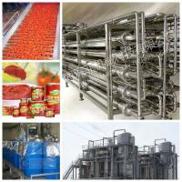 China Tomato Tin Canned Beverage Manufacturing Equipment 15 - 20 Cans / Minute for sale