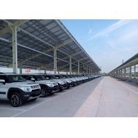 Buy cheap Customized PV Carport Solar Systems Mounting Bracket Open Ground Anti - from wholesalers