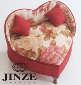 China Heart Shape Jewelry Boxes on sale