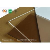Wholesale Flexible acrylic sheet wearing resistant acrylic pmma sheet for industrial aluminum profile from china suppliers
