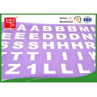 Wholesale A to Z convenient word spell hook and loop alphabet letters Eco - Friendly Dirty resistance from china suppliers