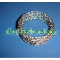 Wholesale compressed knitted wire mesh filter,Compressed knitted wire mesh gasket seal ring from china suppliers