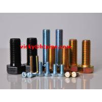 Wholesale SAF2507/S32760 Half thread stainless steel hardware fastener hex bolt SAF2205 from china suppliers