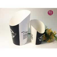 Wholesale 12oz Disposable Double PE Paper French Fries Cup By Flexo Print from china suppliers