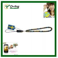 Wholesale Woven Printing Mobile Phone Lanyard With Hang Tag from china suppliers