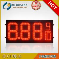 Wholesale LED Gas Price Displays with the Silk Screen Heading LED Display for displaying Fuel rate from china suppliers