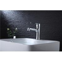Wholesale Basin Vanity Sink Faucets Semicircle Sink Single Handle Chrome Plated Surface from china suppliers
