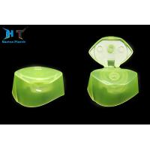China 24mm Snap Neck Size Irregular Shaped 400ml Shampoo Bottle PP Plastic Flip Top Caps for sale