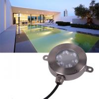 Wholesale Outdoor 12V LED Underwater Fixture Stainless RGB Color Changing LED Pool Light from china suppliers