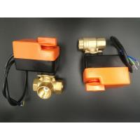 Quality 2 / 3 way electric motorized valve for fan coils for sale