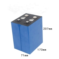 Buy cheap 272Ah 3.2V Iron Phosphate Battery For Solar Street Lights from wholesalers