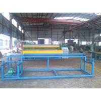 Buy cheap Welded Roll Wire Mesh Making Machine , Wire Mesh Fencing Machine For Construction from wholesalers